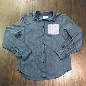 On The Byas Button Front Shirt